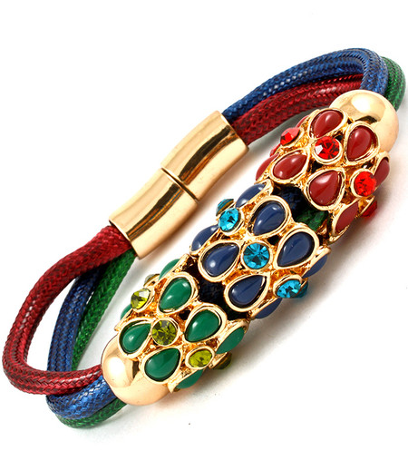 Cannes Thread Multi Strand Bracelet