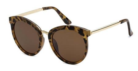 BB - Big Tortoise Frame Brown Lens Sunglasses