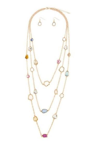 Steph Multi Layer Golden Chain  Necklace