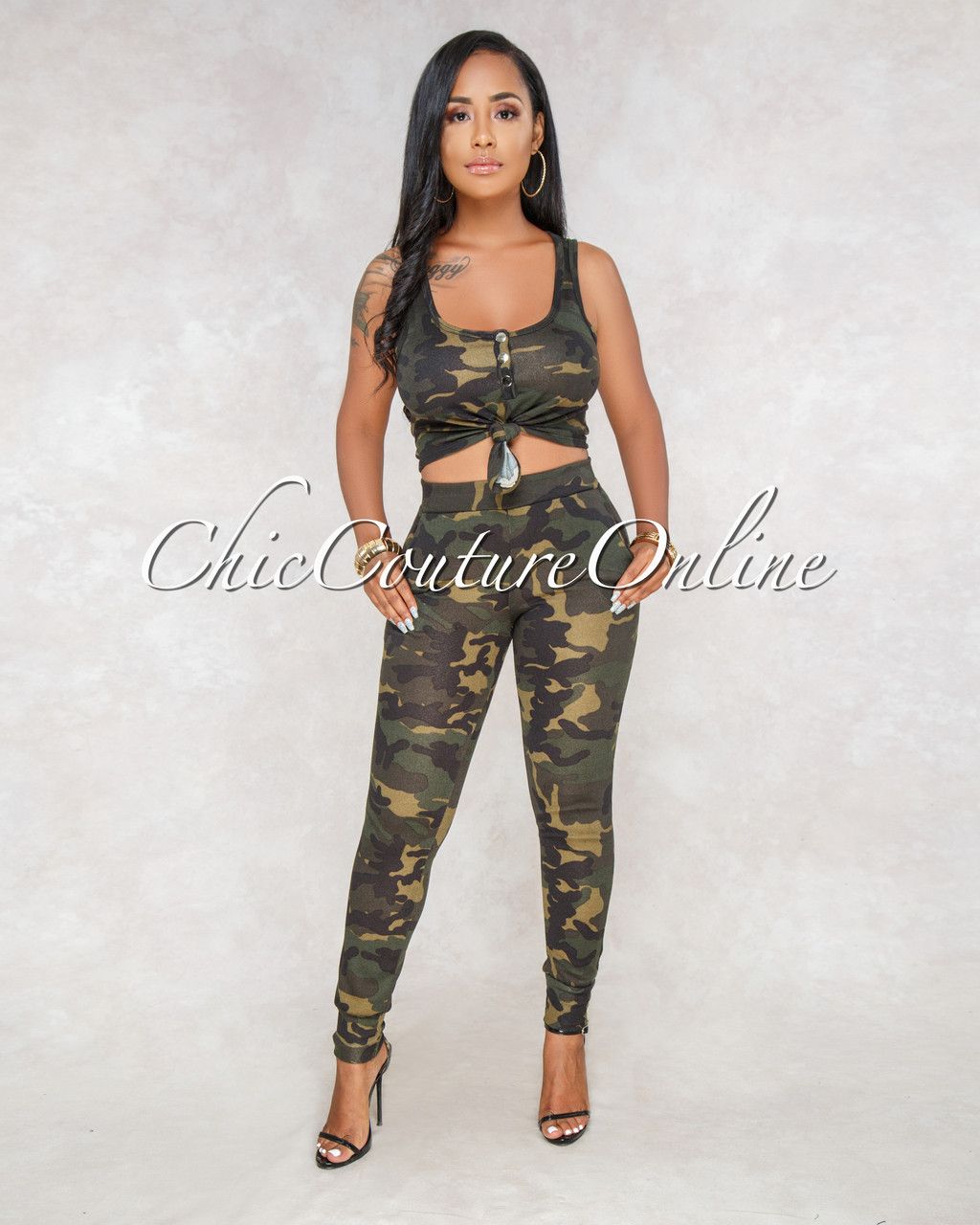 5b80a47231e4 Marali Camo Print Jogger Two Piece Set