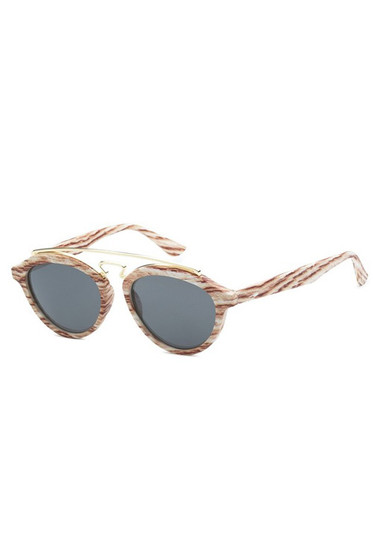 TBAR Mahogany Wood Like Lens Sunglasses