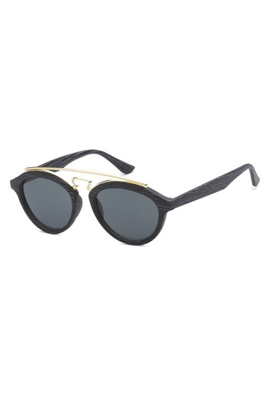 TBAR Dark Wood Like Lens Sunglasses