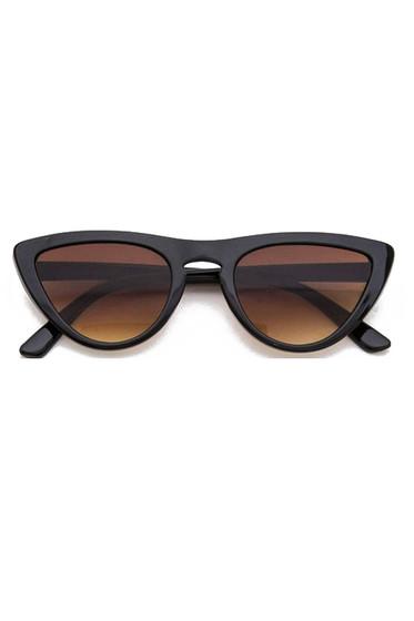 Katty Black Cat Eye Sunglasses