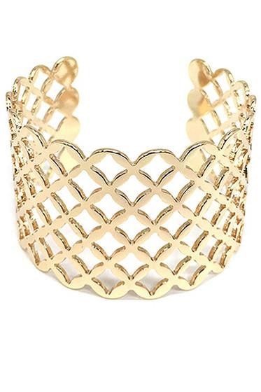 Siri Golden Cuff Bracelet