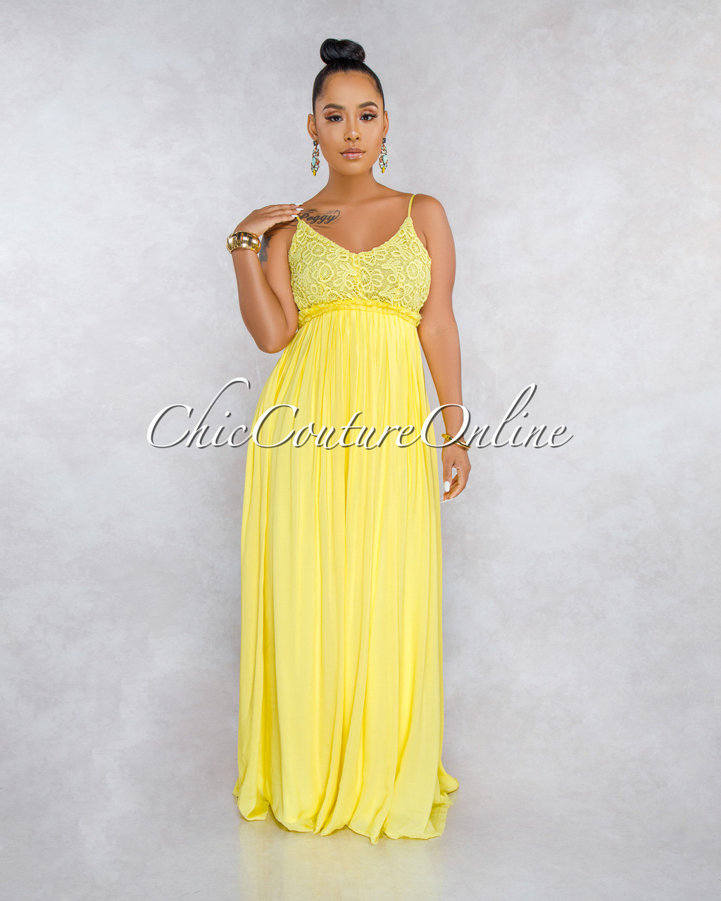 0b8f7ed9527c ... Crochet Top Open Back Maxi Dress. Price: $50.00. Image 1. Larger / More  Photos