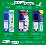 Mr. Sticky's OUTDOOR 3-Pak