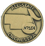 NMEA All State Orchestra Pin