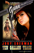 Ten Gallon Tease by Jory Sherman (eBook)