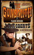 Plains Murder by J.R. Roberts  (Print)