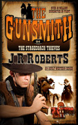 The Stagecoach Thieves by J.R. Roberts (Print)