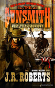 West Texas Showdown by J.R. Roberts (Print)