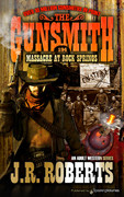 Massacre at Rock Springs by J.R. Roberts  (eBook)