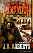 Death Times Five by J.R. Roberts  (eBook)
