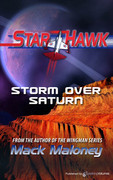 Storm Over Saturn by Mack Maloney (Print)