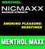 NICMAXX Menthol Maxx E CIg products at Nicmaxxonline