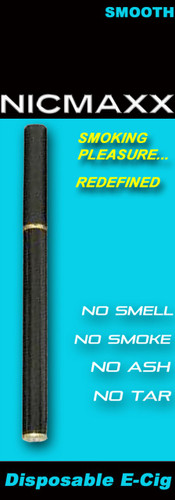 NICMAXX classic smooth flavor disposable e-cig