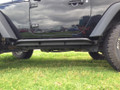 JK Wrangler rock sliders, step