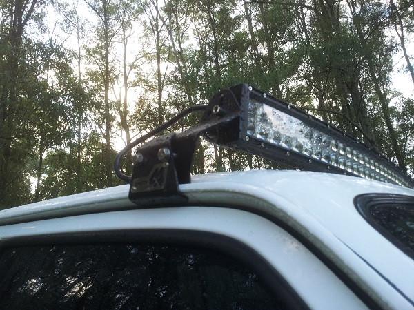 52 Quot Light Bar Mounting Patrol 4x4 Nissan Patrol Forum