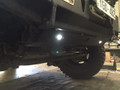 JK Wrangler skid plate to suit Uneek 4x4 bull bar with rock lights