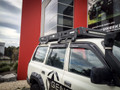 General 4x4 Tactical rack fitted to 80 Series Land Cruiser