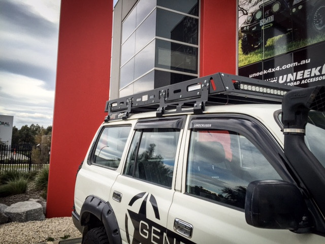 General 4x4 Tactical Roof Rack 80 Series Toyota Land Cruiser