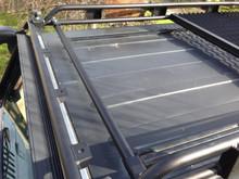 extra tube for JK wranger roof rack shown here on the lower level