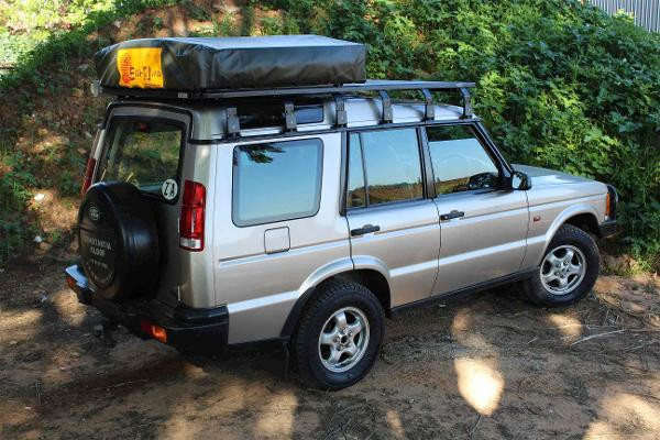 K9 Land Rover Discovery 2 Rack 2 2m Uneek 4x4 Pty Ltd