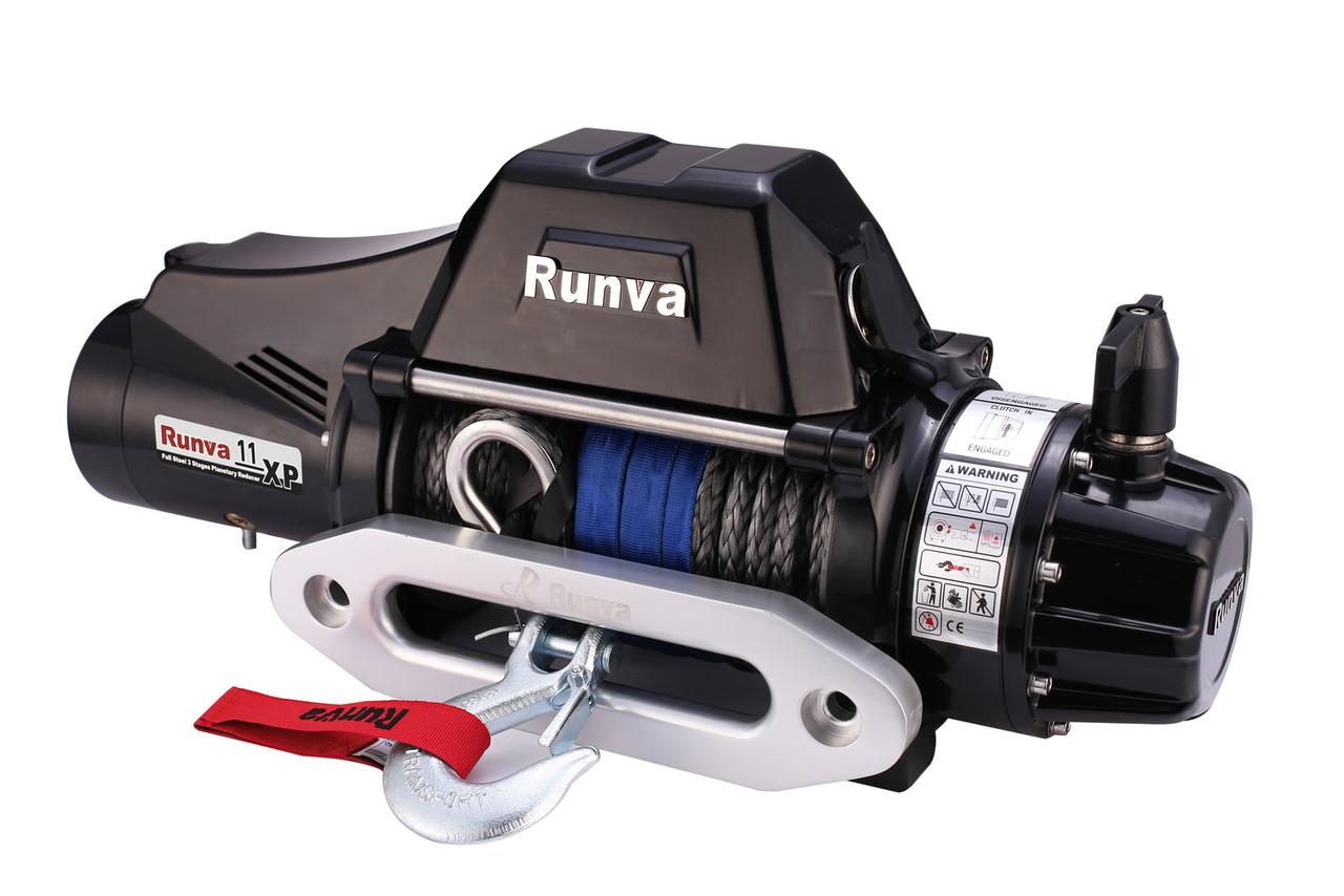 11xp_Runva 11XP 12V Dyneema BLACK Premium Edition - TF full IP67 - Uneek 4x4 Pty Ltd