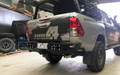 Uneek 4x4 Hilux Rear bar
