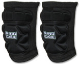 Grappling slide-fit knee pads