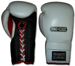 14oz through 24oz Deluxe MiM-Foam Sparring Gloves - Lace-up