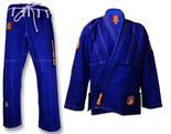 ROLL HARD Premium Brazilian Jiu Jitsu Kimonos - Blue