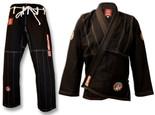 ROLL HARD Premium Brazilian Jiu Jitsu Kimonos - Black