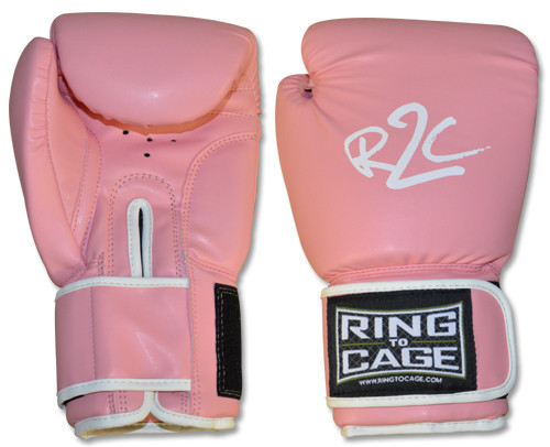 Ring To Cage Women's 12oz Pink Classic Boxing Glove New
