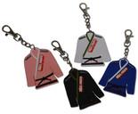 ROLL HARD Brand Jiu Jitsu Gi/ Kimono Key Chain - Rubber