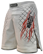 Elite Fight Shorts - White