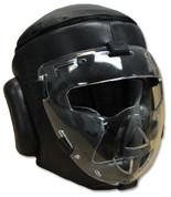 Safety Sheild Training Headgear, with removeable plexiglass Mask