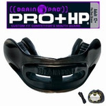 Brain Pad Mouth Guards -  High Performance - Solid Black - Adult