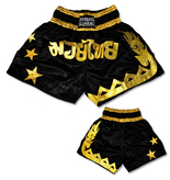 Muay Thai Shorts-Black/Gold