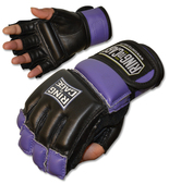 Womens MMA Fitness Bag Gloves.