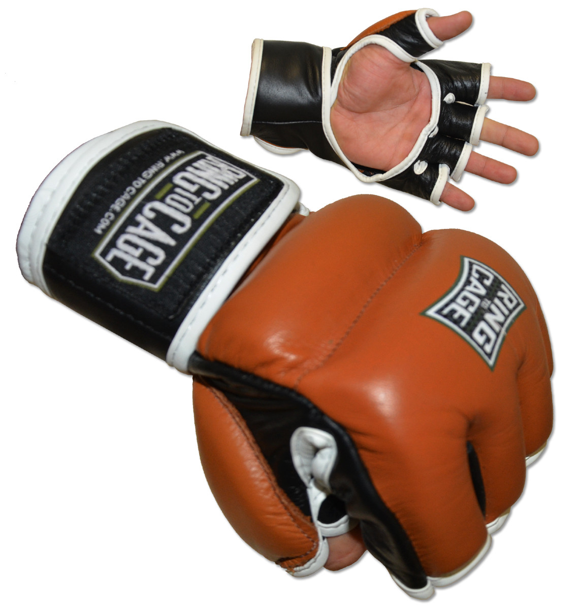Ring to Cage MMA Womens Hybrid Training Gloves 2.0 MMA Fitness