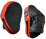 NO LOGO Leather Curved Punch Mitts