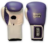 Womens Training Gloves - Purple/White