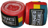 Handwraps Mexican Style Stretchable- Green/Yellow/Red - 180""