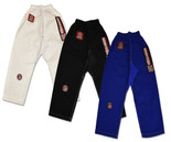 ROLL HARD Kids Hybrid Flex Panel Gi Pant - White, Blue or Black