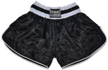 Retro Muay Thai Short - Black/White