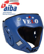 AIBA Approved Boxing Competition Headgear - Blue or Red