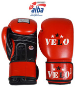 AIBA Approved Boxing Competition Gloves - Blue or Red