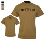 Ring To Cage - Wordmark Tee