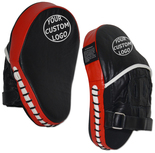 CUSTOM Leather Curved Punch Mitts